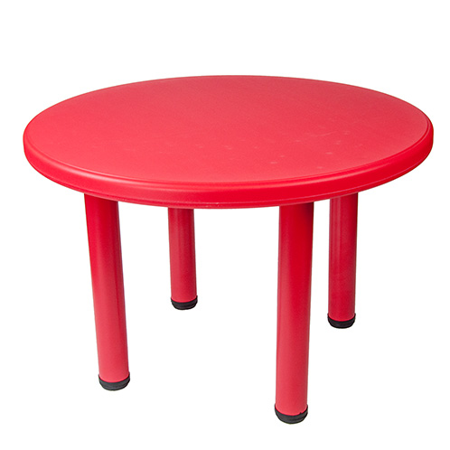 Kids Childrens Plastic Indoor Outdoor Play Round Party Table And Chairs Set
